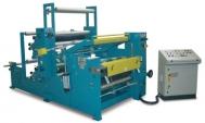 TRL-2RC con singolo svolgitore per rotoli a 1 strato + 2 gruppi stampa flessografici