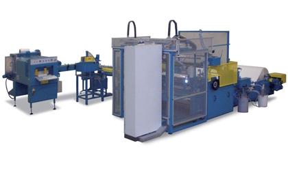 TRR -Taglierina robotizzata per rotoli in carta termica