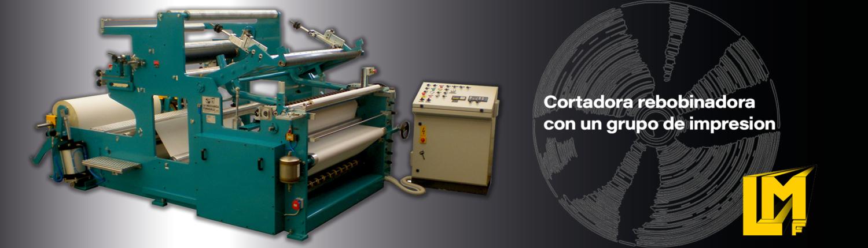 Cortadoras Rebobinadoras para rollos de papel - TRL-AT-RC - La Meccanica