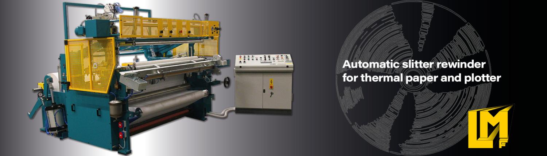 Slitter rewinder machine for paper -TRLA - La Meccanica