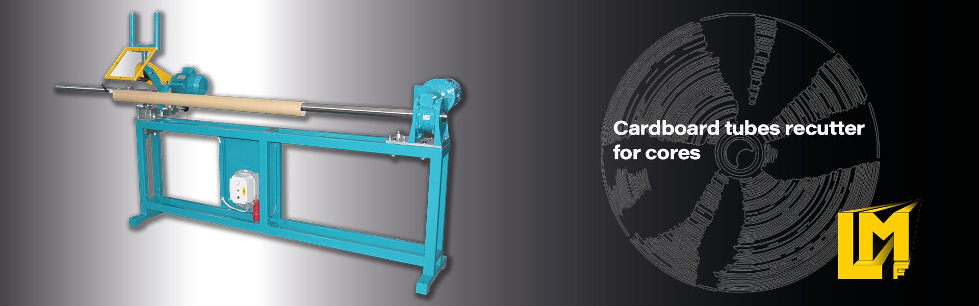 Paper cores tube cutter machine