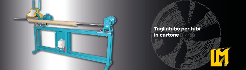 Taglierine ribobinatrici per rotoli in arta - TTL - La Meccanica